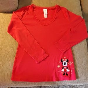 Disney Xmas Minnie Tee